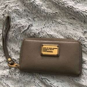 Marc by Marc Jacobs Grey Wristlet